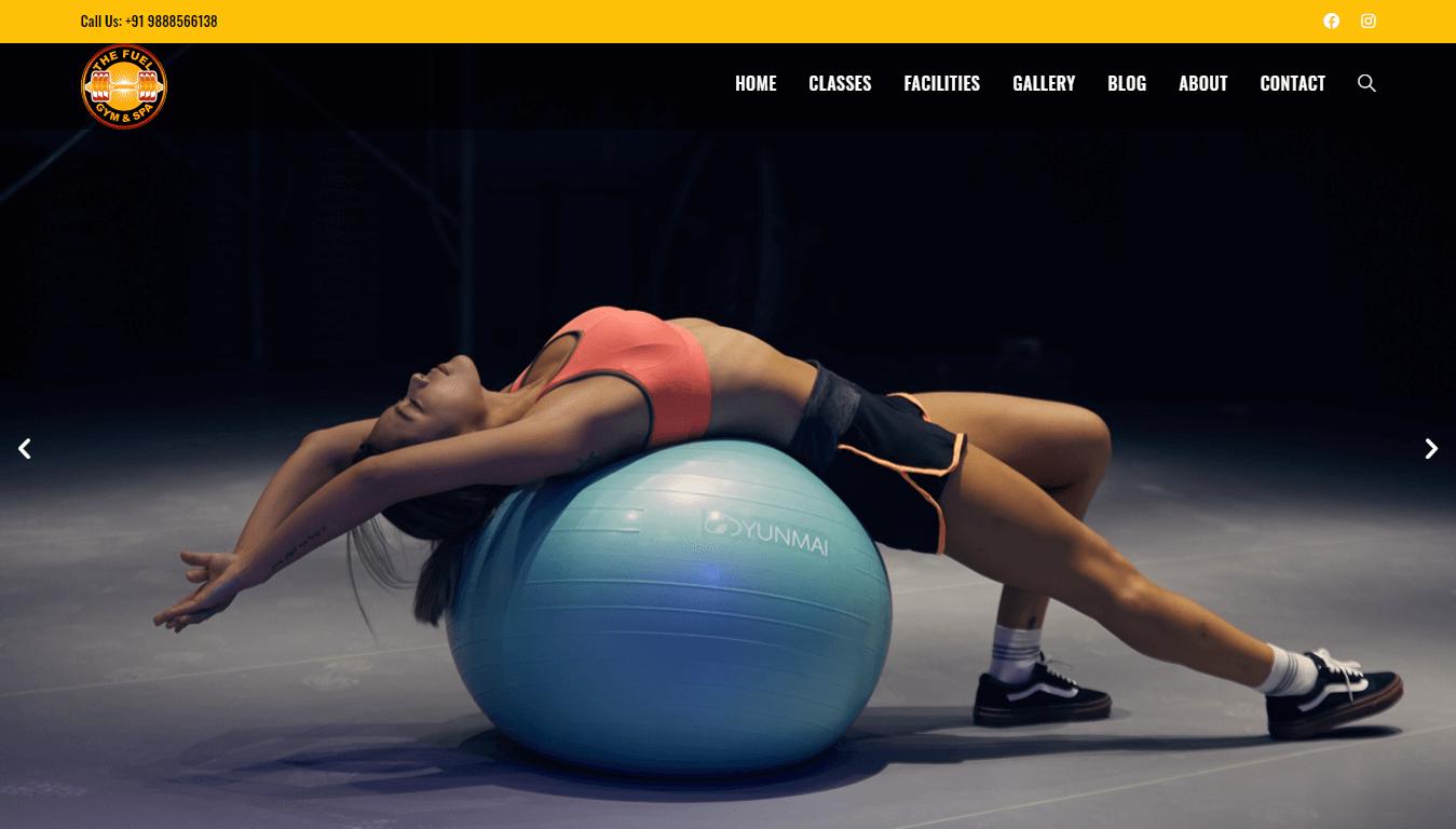 The Fuel Gym - Weblyn